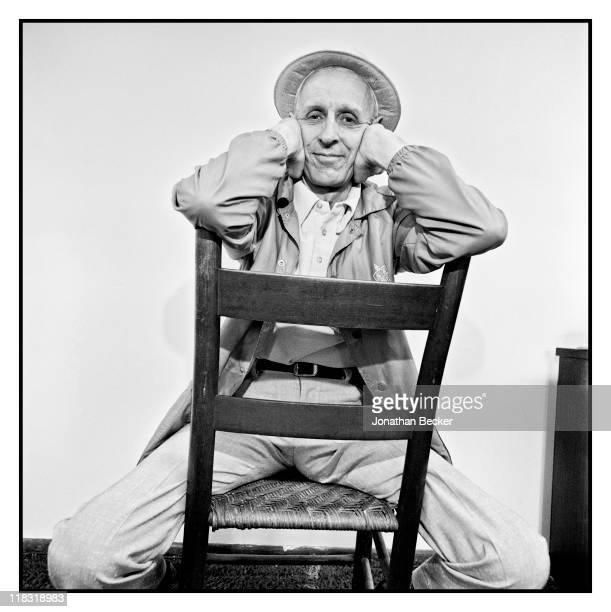Dr Jack Kevorkian is photographed for Vanity Fair Magazine on April 1224 1994 in Detroit Michigan