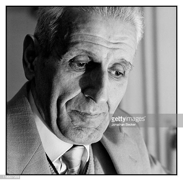 Dr Jack Kevorkian is photographed for Vanity Fair Magazine on January 8 1991 in Detroit Michigan