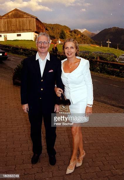 Dr Jack Schiffer Ehemann Michaela MayGeburtstagsfeier Bichlalm Kitzbühel sterreich