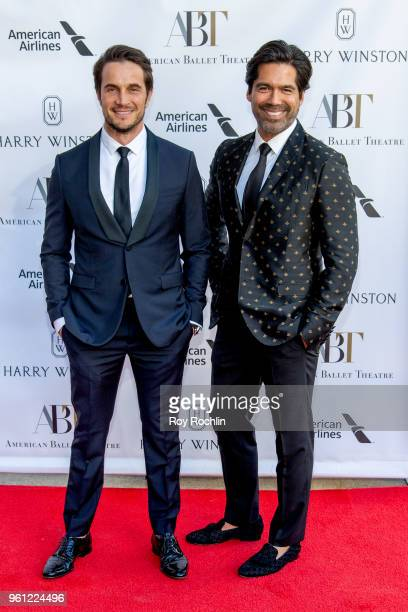 Dr Jake Deutsch and Brian Atwood attend the 2018 American Ballet Theatre Spring Gala at The Metropolitan Opera House on May 21 2018 in New York City