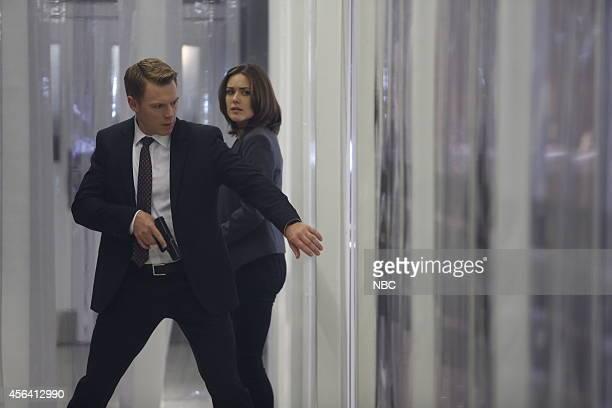 THE BLACKLIST Dr James Covington Episode 203 Pictured Diego Klattenhoff as Donald Ressler Megan Boone as Elizabeth Keen