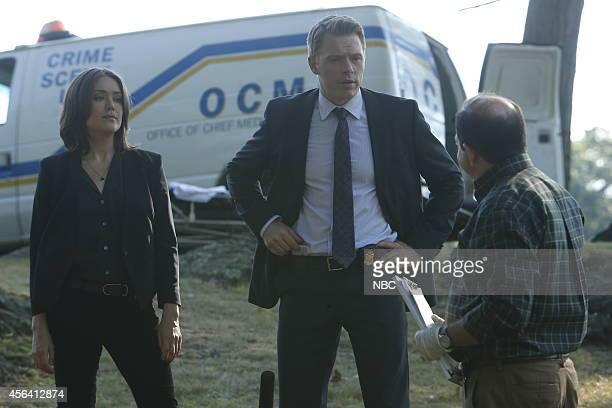 THE BLACKLIST Dr James Covington Episode 203 Pictured Megan Boone as Elizabeth Keen Diego Klattenhoff as Donald Ressler Jason Kravits as Dr Gordon...