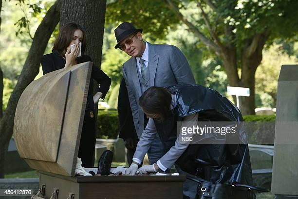 THE BLACKLIST Dr James Covington Episode 203 Pictured Megan Boone as Elizabeth Keen James Spader as Red Reddington Susan Blommaert as Dr Kaplan