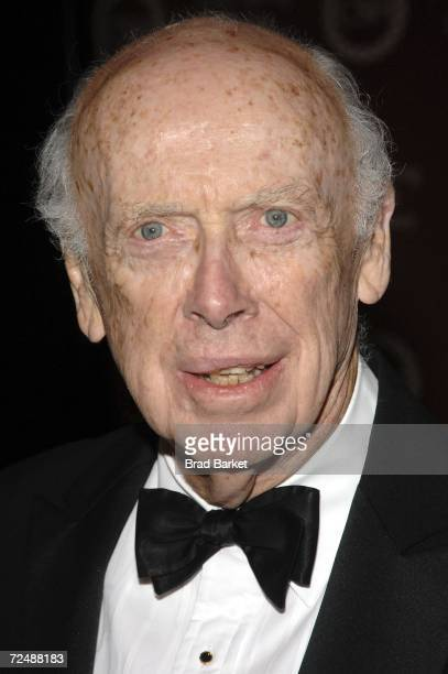 Dr James Watson attends the Cold Spring Harbor Laboratory Inaugural Double Helix Medals Gala at the Mandarin Oriental Hotel on November 09 2006 in...