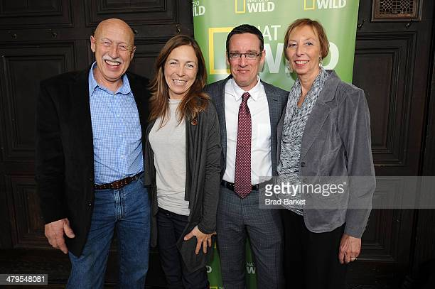 Dr Jan Pol of The Incredible Dr Pol Michelle Oakley of Dr Oakley Yukun Vet EVP and General Manager Nat Geo WILD Geoffrey B Daniels and Diane Pol...