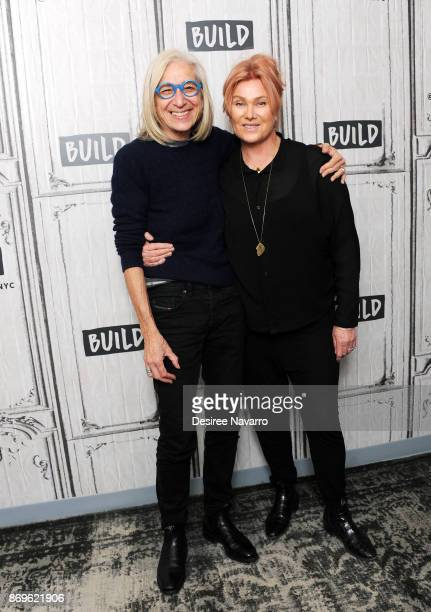 Dr Jane Aronson and actress/producer Deborralee Furness visit Build to discuss Worldwide Orphans 20th Anniversary at Build Studio on November 2 2017...