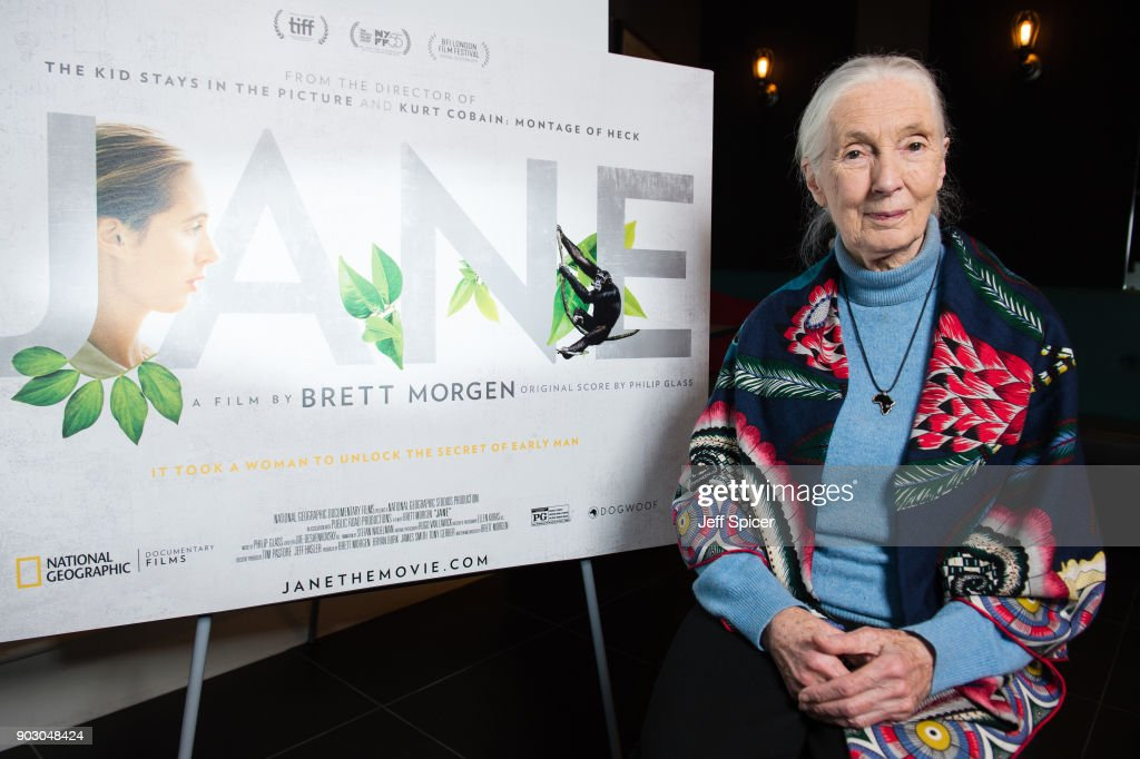 Jane Screening with Dr Jane Goodall in her Hometown of Bournemouth