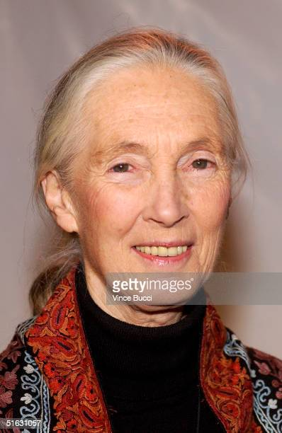 Dr Jane Goodall attends the 2nd Annual Guardian Awards fundraiser hosted by the In Defense of Animals organization at Paramount Studios October 30...