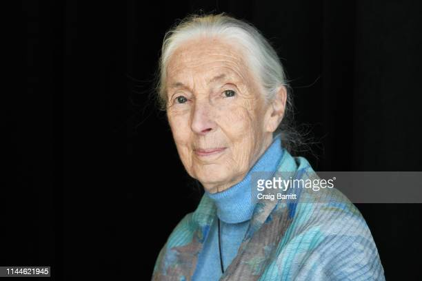 Dr. Jane Goodall attends the TIME 100 Summit 2019 on April 23, 2019 in New York City.