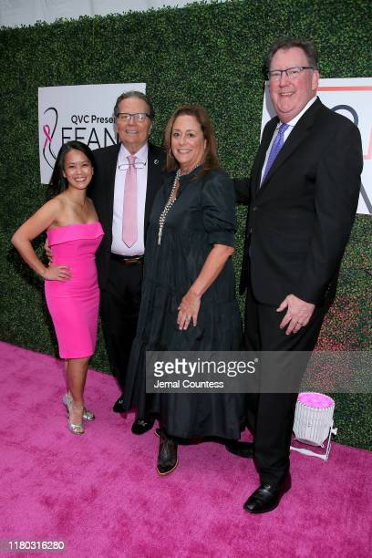 Dr Janie Grumley Patrick Wayne Anita Swift and Dr Steven J O'Day attend the 26th Annual QVC Presents FFANY Shoes On Sale Gala on October 10 2019 in...