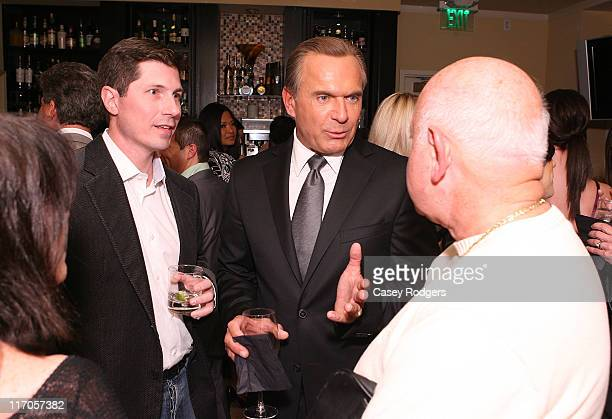 Dr Jay Calvert and Dr Andrew Ordon attend the Roxbury Surgical Association Fall Celebration at the Mosaic Hotel on October 24 2008 in Beverly Hills...