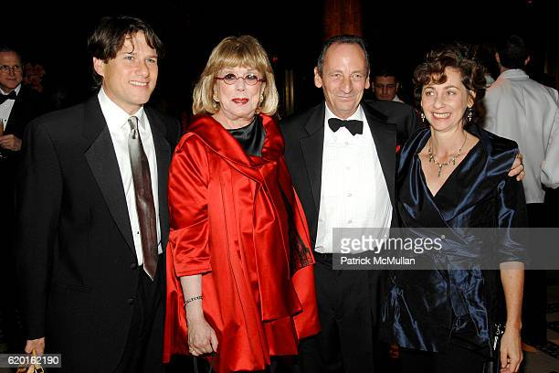 Dr Jeffrey Kaplan Phyllis Newman Alexander Bernstein and Nina Bernstein attend New York LANDMARKS CONSERVANCY presents the 15th Annual 'LIVING...
