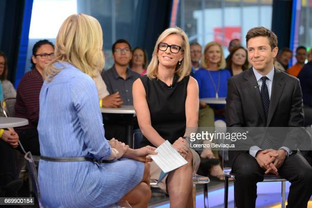 AMERICA Dr Jennifer Ashton and Andrew Romano on Good Morning America Monday April 17 2017 airing on the Walt Disney Television via Getty Images...