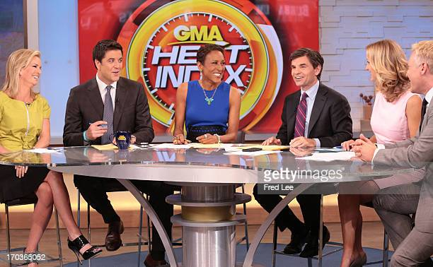 AMERICA Dr Jennifer Ashton and the coanchors on Good Morning America 6/11/13 airing on the Walt Disney Television via Getty Images Television Network...