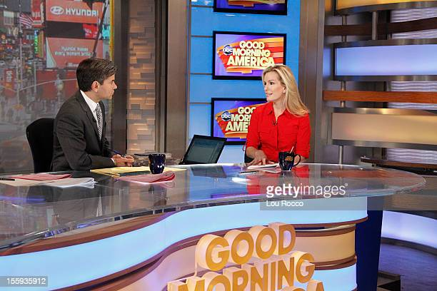 AMERICA Dr Jennifer Ashton appears on Good Morning America 11/9/12 airing on the ABc Television Network GEORGE