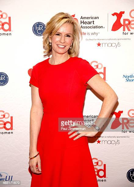 Dr Jennifer Ashton attends the 2015 American Heart Association Go Red For Women Luncheon at the Hilton New York on March 3 2015 in New York City