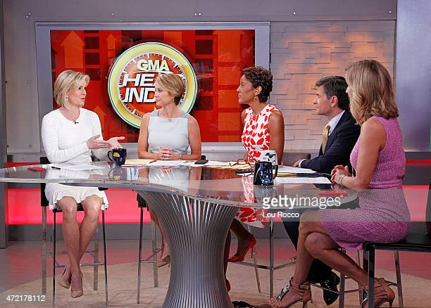 AMERICA Dr Jennifer Ashton on Good Morning America 5/4/15 airing on the Walt Disney Television via Getty Images Television Network