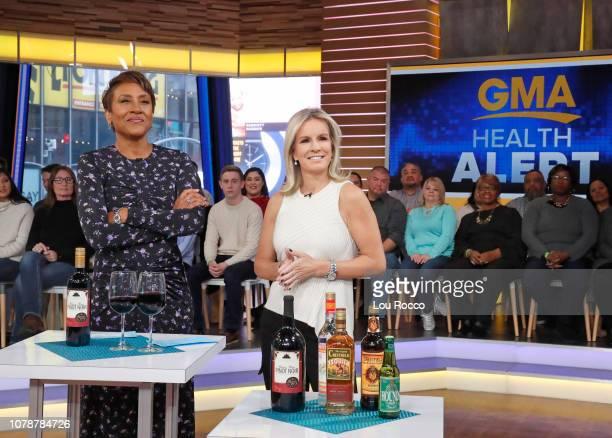 AMERICA Dr Jennifer Ashton on Good Morning America on Monday January 7 airing on the Walt Disney Television via Getty Images ROBIN