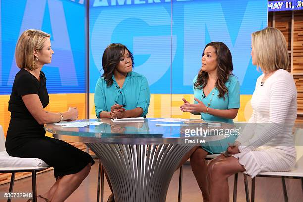 AMERICA Dr Jennifer Ashton Sunny Hostin and Ericka Souter are guests on Good Morning America 5/11/16 airing on the Walt Disney Television via Getty...