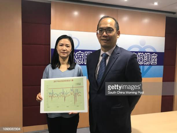 Dr Jennifer Leung Ngarsze associate consultant at Hong Kong Red Cross Blood Transfusion Service and Dr Lee Cheukkwong chief executive and medical...