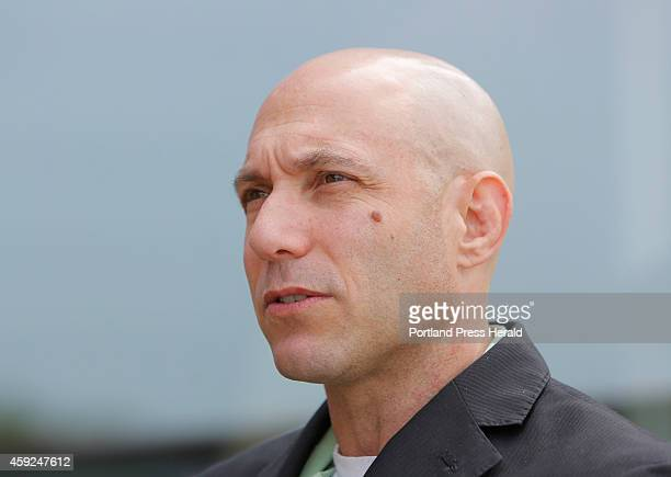 Dr Jeremy Richman talks with students and faculty at the University of New England on Tuesday August 12 2014 Dr Richman's daughter Avielle was killed...