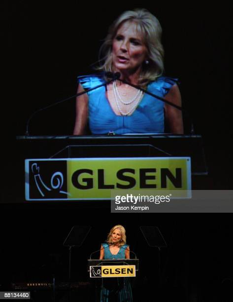 Dr Jill Biden attends the 6th Annual GLSEN Respect Awards and Gala at Gotham Hall on June 1 2009 in New York City