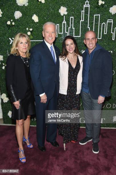 Dr Jill Biden Vice President Joe Biden Livelihood founder Ashley Biden and Gilt Saks OFF 5TH President Jonathan Greller attend the GILT and Ashley...