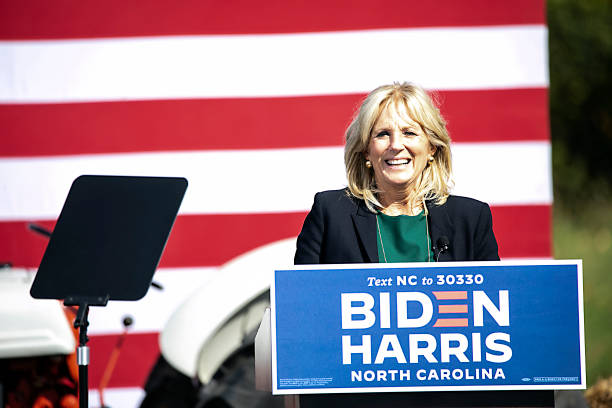 NC: Jill Biden and Amy Schumer Attend Biden For President North Carolina Get Out The Vote Drive-In Rally - Charlotte, NC