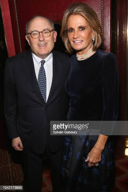 Dr Joel Kassimir and Grace Meigher attend David Patrick Columbia And Chris Meigher Toast The QUEST 400 At DOUBLES on September 27 2018 in New York...