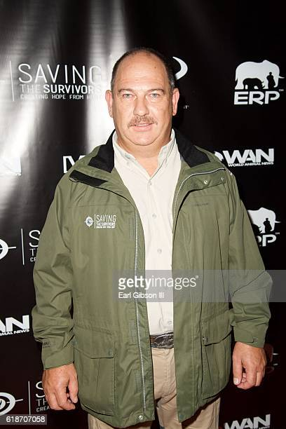 Dr Johan Marais attends the Fundraiser Event For Rock The Elephant at Hotel BelAir on October 27 2016 in Los Angeles California