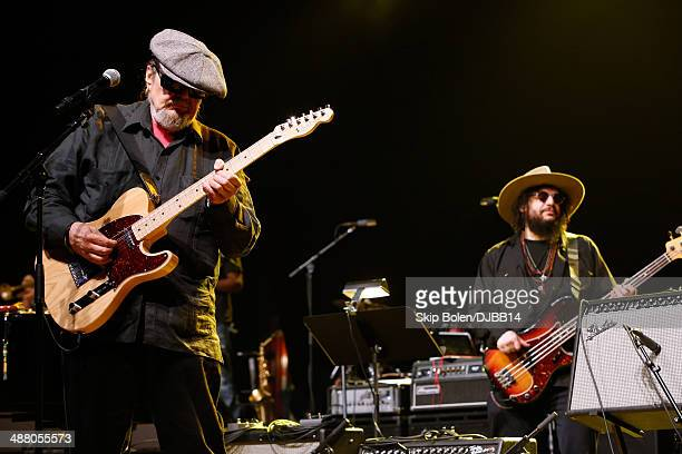 Dr John and Don Was rehearse for The Musical Mojo of Dr John A Celebration of Mac His Music at the Saenger Theatre on May 3 2014 in New Orleans...