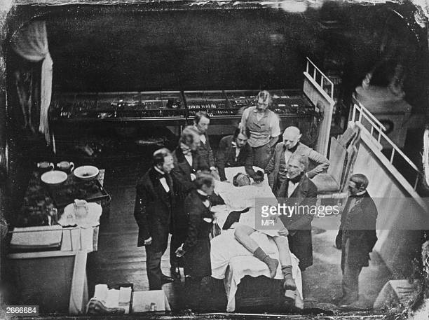surgery 1800s stock photos and pictures