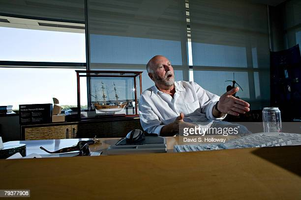 Dr John Craig Venter interviewed in his office in the J Craig Venter Institute on September 12 2007 in Rockville Maryland Venter founded The...