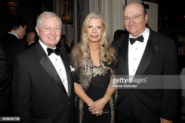 Dr. John J. Connolly, Princess Yasmin Aga Khan and John K. Castle attend The 2007 Alzheimer's Association Rita Hayworth Gala at Waldorf Astoria on...