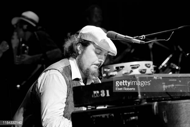 Dr John performing with the Neville Brothers at The Savoy in New York City on August 10, 1981.