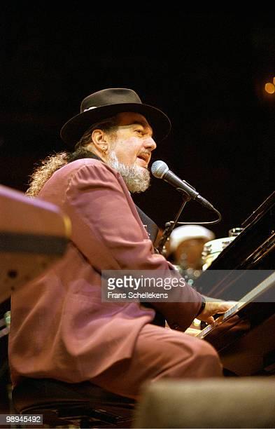 Dr. John performs live on stage at Concertgebouw in Amsterdam, Netherlands on October 30 2000