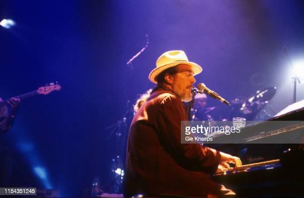 Dr John performs on stage, Ancienne Belgique , Brussels, Belgium, 30th June 1998.