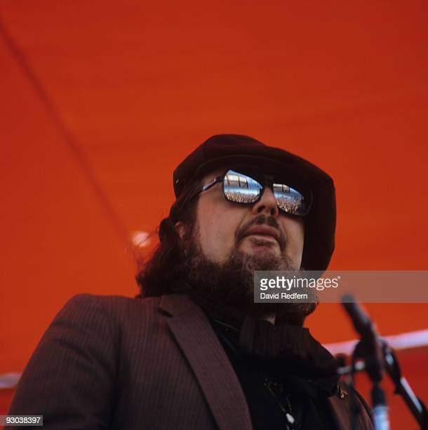 Dr John performs on stage at the New Orleans Jazz and Heritage Festival in New Orleans Louisiana on May 02 1982