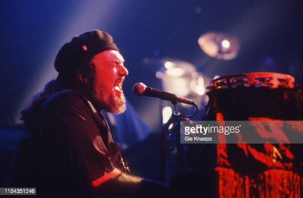 Dr John performs on stage, Vooruit, Gent, Belgium, 3rd May 1994.