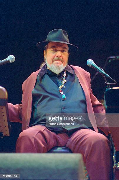Dr John , piano and vocal, performs at the Concertgebouw on October 29th 2001 in Amsterdam, Netherlands.