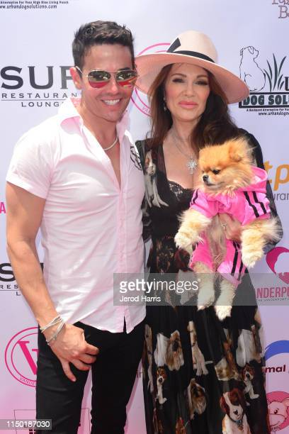 Dr. John Sessa and Lisa Vanderpump attend 4th Annual World Dog Day at West Hollywood Park on May 18, 2019 in West Hollywood, California.