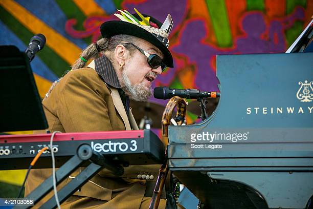 Dr. John: Ske Dat De Dat... The Spirit of Satch performs during 2015 New Orleans Jazz & Heritage Festival - Day 7 at Fair Grounds Race Course on May...