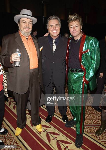 Dr John Steve Tyrell and Brian Setzer backstage at TNT's Christmas in Washington Concert to air Sunday December 15 at 8pm ET/PT live from the...