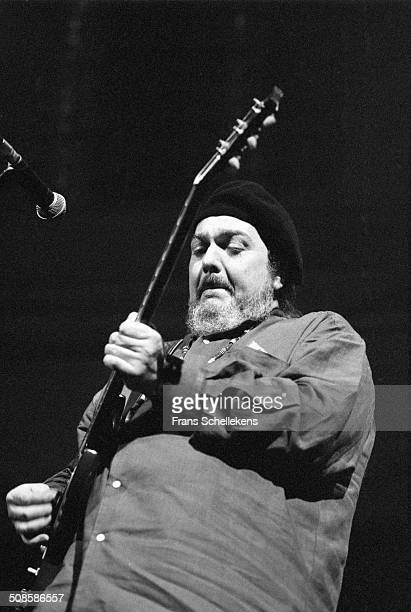 Dr John , vocal-guitar-piano, performs at the Paradiso on 2nd May 1994 in Amsterdam, Netherlands.