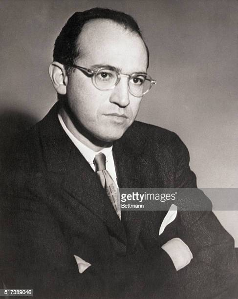 Dr. Jonas Salk, director, Virus Research Laboratory, University of Pittsburgh, PA, who was named winner yesterday of a 1956 Albert Lasker Awrad by...