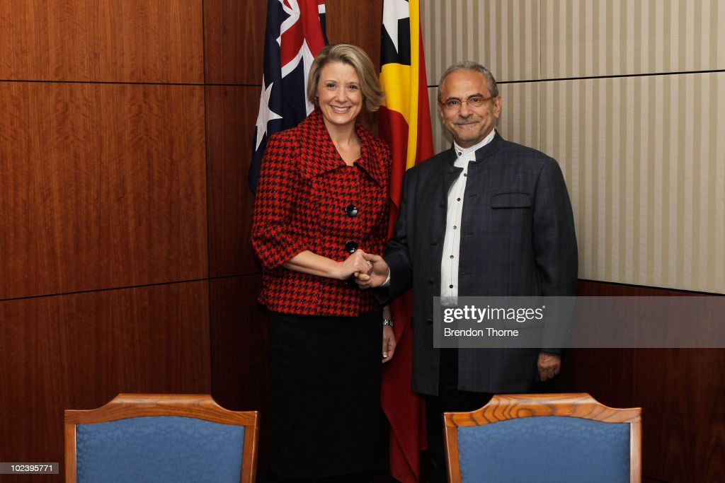 President Jose Ramos-Horta Visits Australia