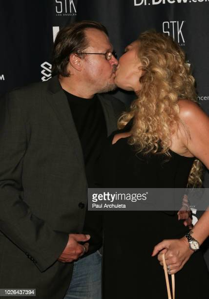 Dr Joseph Brownfield and Reality TV Personality Mary Carey attend the Dr Drew 60th birthday podcast ROAST by celebrity friends benefiting The...