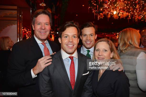 Dr Joseph Conway Jackson Conway Christian Conway and Peggy Conway attend George Farias Anne Jay McInerney Host A Holiday Party at The Doubles Club on...