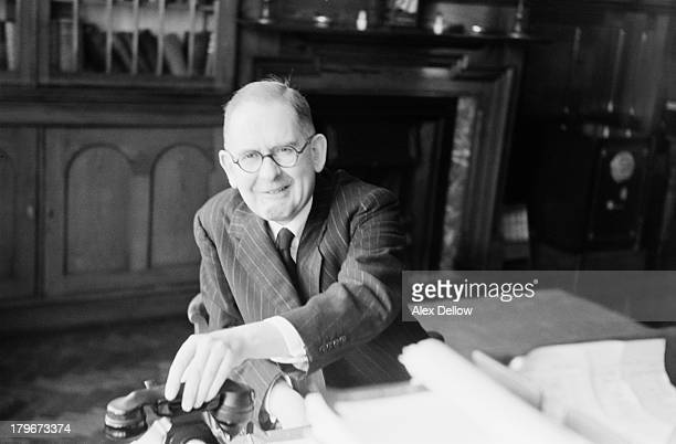 Dr Joseph Stanley Hopwood at Broadmoor Hospital a highsecurity psychiatric facility in Berkshire 1956 Hopwood was Medical Superintendent at the...