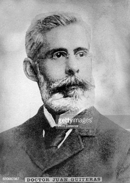 Dr Juan Guiteras Physician born in Matanzas in 1852 He was Professor at the University and contributed largely to the disappearance of yellow fever...